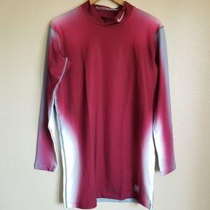 nike pro combat hyperwarm dri-fit max men's shirt